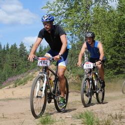RMK Kõrvemaa Triatlon - Indrek Kose (162), Sepo Kuri (163), Avo Vaher (193)