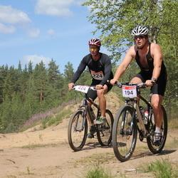 RMK Kõrvemaa Triatlon - Raul Uus (194), Mihkel Pärn (224)
