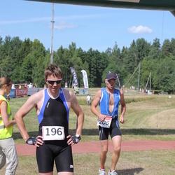 RMK Kõrvemaa Triatlon - Ulvar Kaubi (196), Antti Rammi (206)