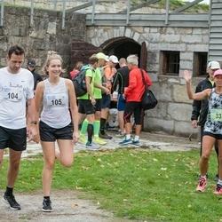 III Ultima Thule maraton - Ander Avila (104), Melissa Tuuling (105)