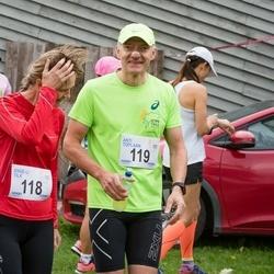 III Ultima Thule maraton - Anne-Li Tilk (118), Anti Toplaan (119)