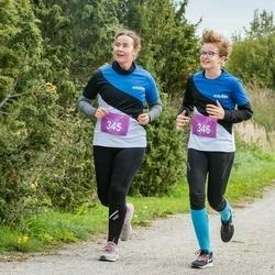 III Ultima Thule maraton - Evelin Kuris (345), Anna Malena Kuris (346)