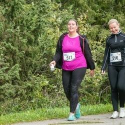 III Ultima Thule maraton - Triin Prei (516), Lissi Hioväin (517)