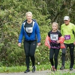 III Ultima Thule maraton - Väino Vaha (329), Piret Kaasik (507), Karmen Kaasik (508)