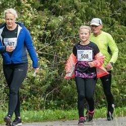 III Ultima Thule maraton - Piret Kaasik (507), Karmen Kaasik (508)