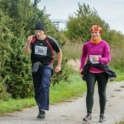 III Ultima Thule maraton - Raili Lilleleht (504), Mihkel Mändmets (505)