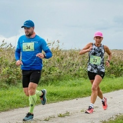 III Ultima Thule maraton - Taimi Kangur (33), Martin Maasik (34)