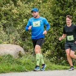 III Ultima Thule maraton - Martin Maasik (34), Martten Kaldvee (52)