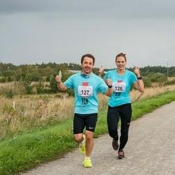 III Ultima Thule maraton - Maret Müür (126), Raul Köster (127)