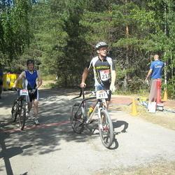 RMK Kõrvemaa Triatlon - Renat Vafin (208), Raigo Tõnisalu (217)