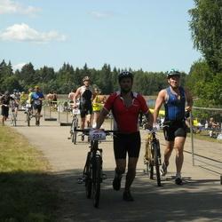 RMK Kõrvemaa Triatlon - Marko Mälberg (266), Taavi Teets (297)