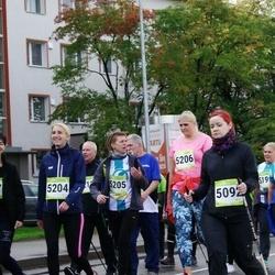 7. Tartu Linnamaraton - Kristel Veeber (5092), Anastasia Kalinina (5204), Kert Jusar (5205), Piret Soodla (5206)