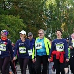 7. Tartu Linnamaraton - Reelika Luhtaru (5154), Anneli Roose (5155), Pille Kaldmaa (5156)