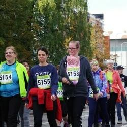 7. Tartu Linnamaraton - Reelika Luhtaru (5154), Anneli Roose (5155), Janne Pungar (5158)