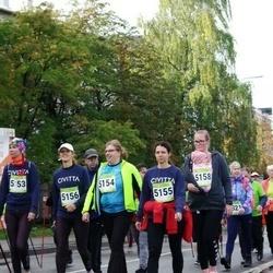 7. Tartu Linnamaraton - Age Laine (5153), Reelika Luhtaru (5154), Anneli Roose (5155), Janne Pungar (5158)