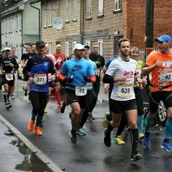 7. Tartu Linnamaraton - Andrus Undrest (73), Arto Karnaranta (371), Martin Jõgi (625)