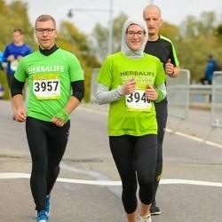 7. Tartu Linnamaraton - Anni Kübarsepp (3948), Heiki Veider (3957)