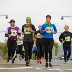 7. Tartu Linnamaraton - Sandra Nihvelt (3962), Marelle Mangus (3983), Agnes Pärnamägi (4287)