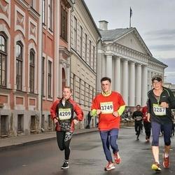 7. Tartu Linnamaraton - Ants Turb (3287), Aare Allaje (3749), Kadi Kertu Elias (4209)