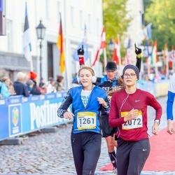 7. Tartu Linnamaraton - Annika Veisson (1261), Kristiina Mäemuru (2072)