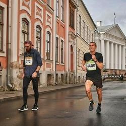 7. Tartu Linnamaraton - Jarek Zaranek (372), Agris Samcovs (440)