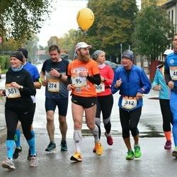 7. Tartu Linnamaraton - Aare Huik (99), Kalle Kukk (274), Raivo Loost (275), Ilmar Tagel (312), Silvar Rückenberg (487), Ülle Suursaar (551)