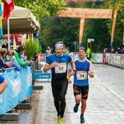 7. Tartu Linnamaraton - Kaidar Hussar (34), Arno Bachaus (53)