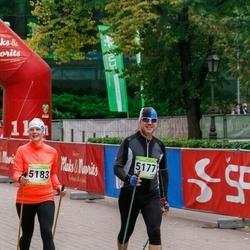 7. Tartu Linnamaraton - Hanno Kroon (5177), Berit Kroon (5183)