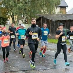 7. Tartu Linnamaraton - Koit Põldmaa (1058), William Combes (1225), Merilin Kiviorg (1226), Heret Adamson (1500), Pilleriin Soodla (1891), Anar Park (2080)