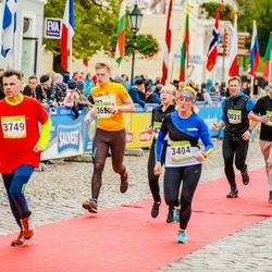 7. Tartu Linnamaraton - Margus Reinoja (3031), Marge Almre (3404), Alo Treial (3628), Aare Allaje (3749), Märt Läänemets (4650)