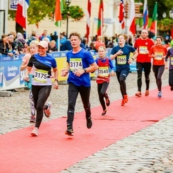 7. Tartu Linnamaraton - Jaanus Lehtsaar (3174), Vairi Lehtsaar (3175), Reimo Soover (3365), Anna Marija Zake (3540)