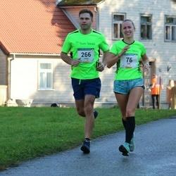 63. Viljandi Linnajooks - Inga Kree (76), Janno Järvsoo (266)