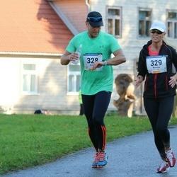 63. Viljandi Linnajooks - Jaanus Paju (328), Kristiina Murula (329)