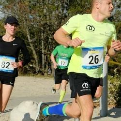 Pärnu Rannajooks - Andre Kaaver (26), Maria Veskla (82)
