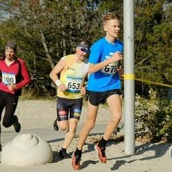 Pärnu Rannajooks - Veiko Lille (100), Jüri Vahar (653), Ott Nõmm (676)
