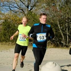 Pärnu Rannajooks - Rauno Merila (93), Madis Mihklepp (135)