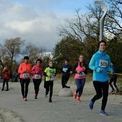 Pärnu Rannajooks - Olga Kaareste (286), Kelli Järvoja (417), Julia Grigorieva (505), Hene Karumaa (620), Sille Tohver (685)