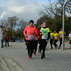 Pärnu Rannajooks - Olga Kaareste (286), Kelli Järvoja (417), Hene Karumaa (620), Sille Tohver (685)