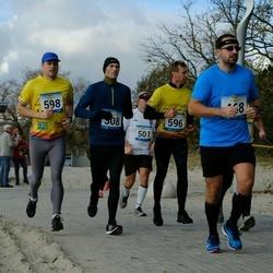 Pärnu Rannajooks - Kaido Kuru (308), Mart Viisitamm (468), Taavi Kõrvits (501), Madis Kuuskmann (596), Rünno Patune (598)