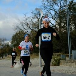 Pärnu Rannajooks - Mari-Liis Kaljur (533), Melissa Mänd (567)