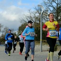 Pärnu Rannajooks - Aili Jürimäe (326), Katrina Kaska (335), Kalle Kolt (554), Evelin Linde (600)