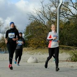 Pärnu Rannajooks - Luize-Ingrid Klimova (289), Tuuli Joa (311), Risto Retsnik (674)