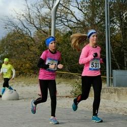 Pärnu Rannajooks - Triin Kovalevski (531), Laura-Liis Kaljur (532)