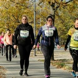 Pärnu Rannajooks - Liina Juss (1028), Anneli Pärand (1097), Dea Sommer (1121)