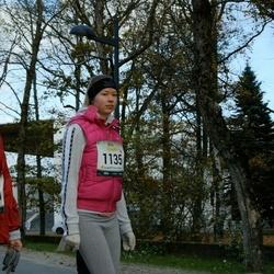 Pärnu Rannajooks - Marge Rull (1110), Merilin Toomra (1135)