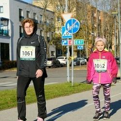 Pärnu Rannajooks - Evi Lapp (1061), Eleri Lapp (1062)