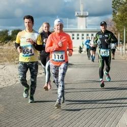 Pärnu Rannajooks - Ingrid Lindenberg (114), Ants Vessmann (654)