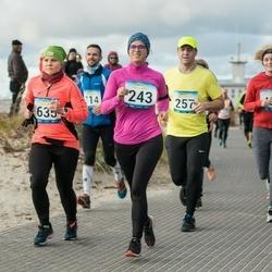 Pärnu Rannajooks - Kristiina Treial (243), Ruth Trääder (635)