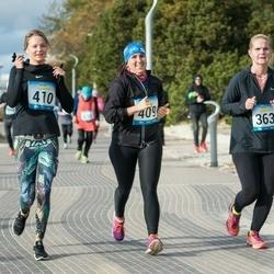 Pärnu Rannajooks - Kaja Lepp (363), Mari Tasane (409), Kristiina Mihkelstein (410)