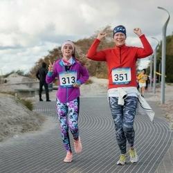 Pärnu Rannajooks - Mariliis Puusepp (313), Karin Artel (351)